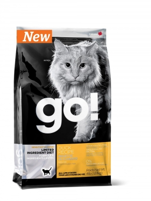 GO! SENSITIVITY + SHINE™ LIMITED INGREDIENT Duck Recipe for Cats