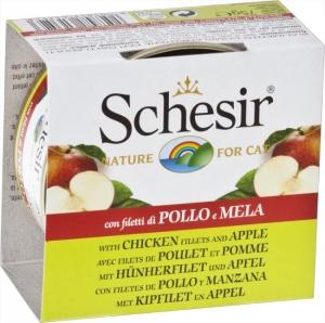 Schesir Cat Chicken fillets with Apple