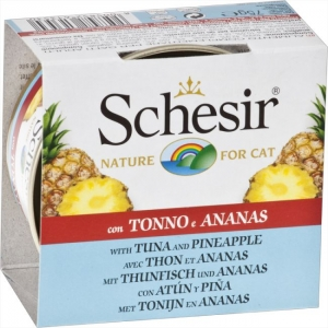 Schesir Cat Tuna with Pineapple and Rice