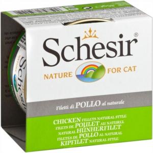 Schesir Cat Chicken fillets natural style