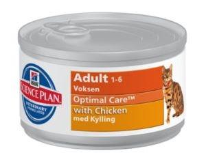 Hill's SP Feline Adult Chicken с курицей