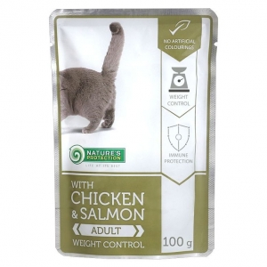 Nature's Protection With Chicken & Salmon Weight Control