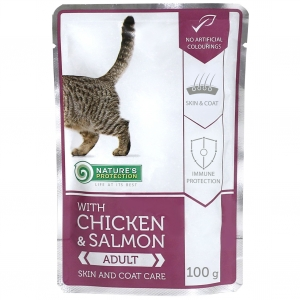 Nature's Protection With Chicken & Salmon Skin and Coat Care