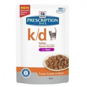 Hill's Prescription Diet Feline k/d с Говядиной