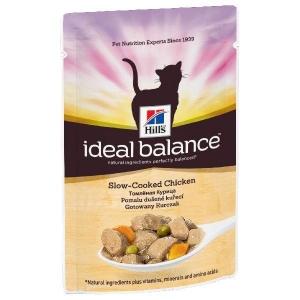 Hill's Ideal Balance Feline Adult с Курицей и Овощами