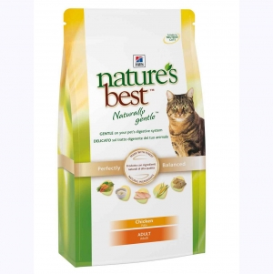 Hill's Nature's Best Naturally Gentle Feline Adult с Курицей