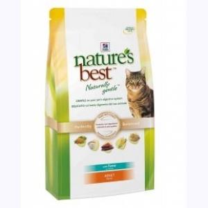 Hill's Nature's Best  Naturally Gentle Feline Adult с Тунцом