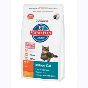 Hill's Science Plan Feline Adult Indoor Cat с Курицей