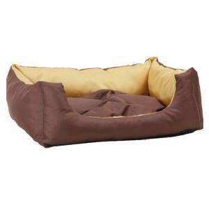 Лежак квадратный с подушкой Exclusive S 40x30x17 cm