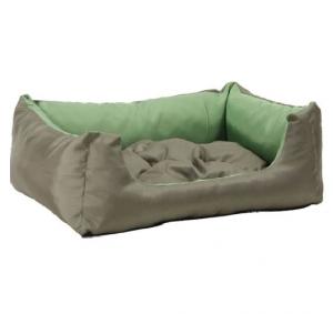 Лежак квадратный с подушкой Exclusive L 55x40x19 cm