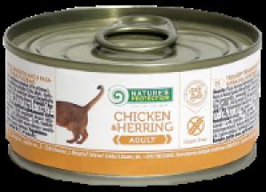 Nature's Protection Cat Chicken & Herring