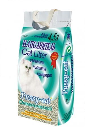 Наполнитель Pussy Cat океанический из цеолита