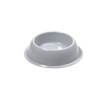 Миска круглая для дом. питомца Silver  Ø 16 x 4 h