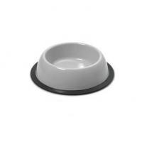 Миска круглая для дом. питомца Silver 19*5см