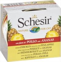 Schesir Cat Chicken fillets with Pineapple