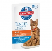 Hill's SP Feline Adult Ocean Fish  с Океанической рыбой