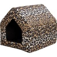 Домик прямоугольный Crazy леопард
