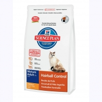 Hill's™ Science Plan™ Feline Mature Adult 7+ Hairball Control с Курицей