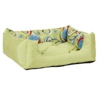 Лежак квадратный с подушкой Crazy M 45x35x18 cm
