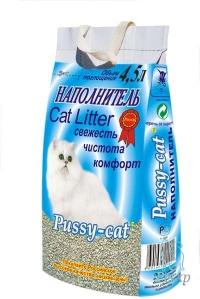 Наполнитель Pussy Cat (цеолитовый)