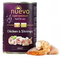Корм для кошек NUEVO с курицей и креветками