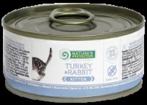 Nature's Protection Kitten Turkey & Rabbit